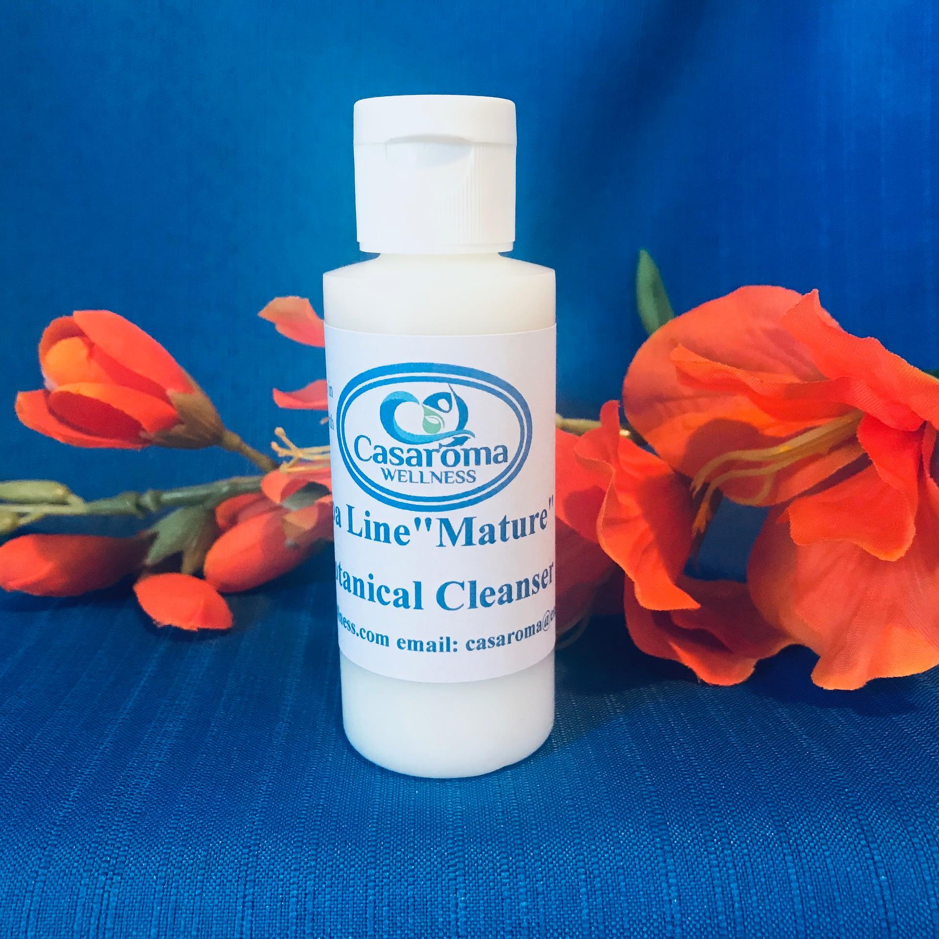 Mature Skin-Botanical Facial Cleanser