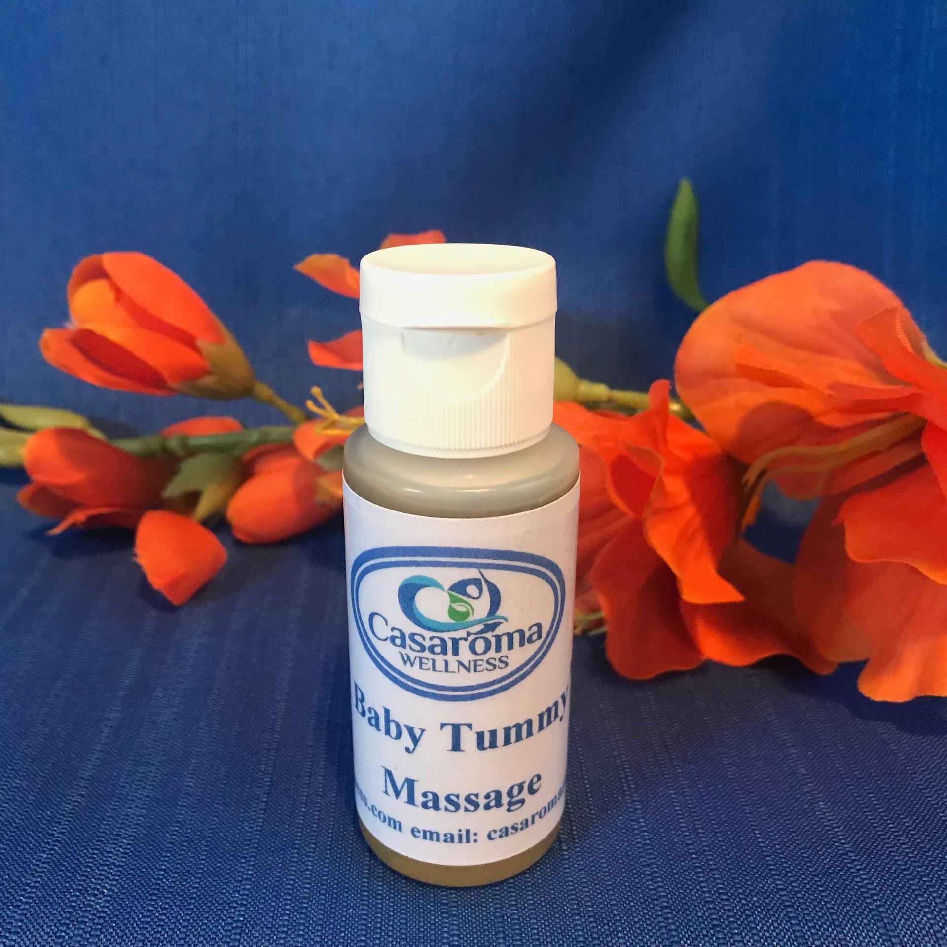 Baby Tummy Massage Oil