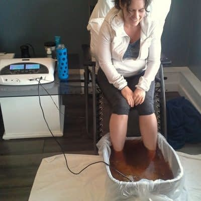 Ionic Foot Bath Treatment 2